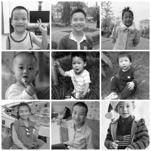 China Kids Home (BW)(SM)